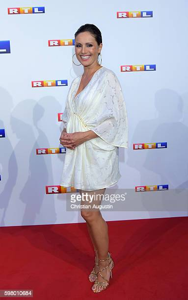 Nazan Eckes attends photocall of RTL Program 2016/17 presentation at the REE Location on August 30 2016 in Hamburg Germany