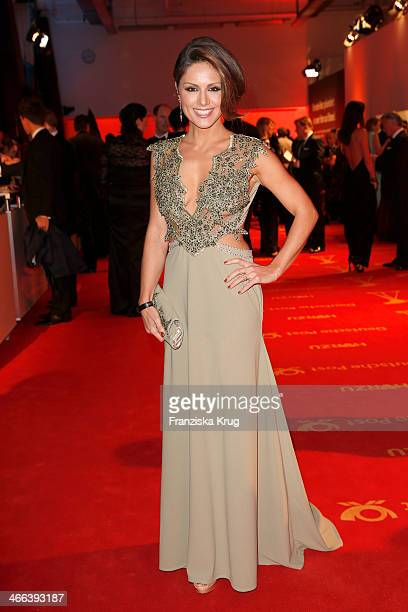 Nazan Eckes attends the Goldene Kamera 2014 at Tempelhof Airport on February 01 2014 in Berlin Germany