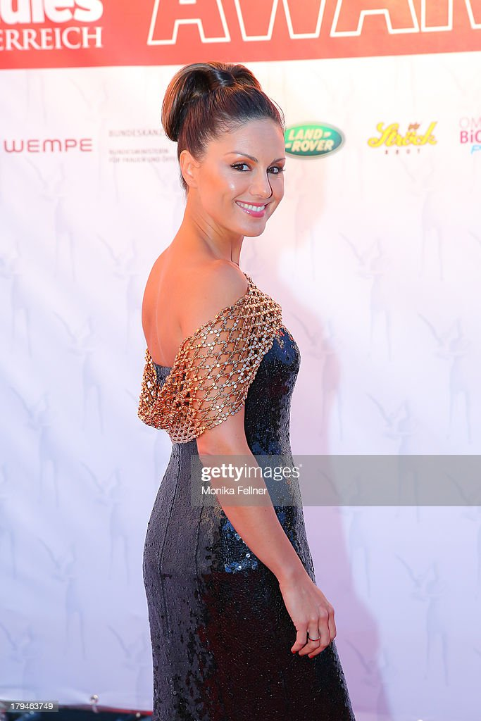 Nazan Eckes attends the Leading Ladies Awards 2013 at Belvedere Palace on September 3, 2013 in Vienna, Austria.