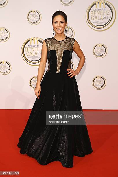 Nazan Eckes attends the McDonald's charity gala on November 13 2015 in Cologne Germany