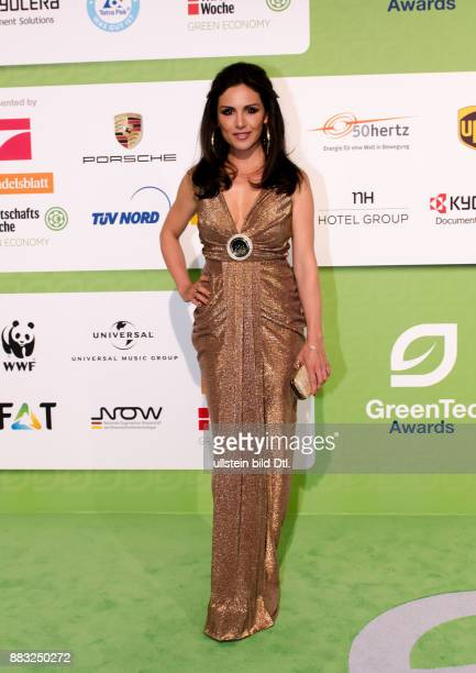 Nazan Eckes auf den GreenTec Awards 2015 im Velodrom Berlin am