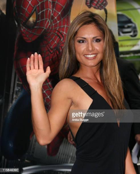 """Nazan Eckes during """"Spider-Man 3"""" Berlin Premiere at Cinestar Cinema Berlin in Berlin, Berlin, Germany."""