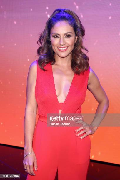 Nazan Eckes during the 1st show of the television competition 'Dance Dance Dance' on July 12, 2017 in Cologne, Germany.The first episode of the show...