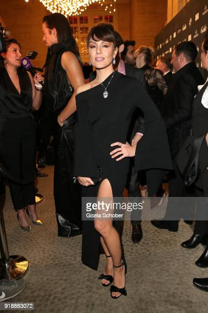 Nazan Eckes during the Berlin Opening Night by GALA and UFA Fiction at Das Stue Hotel on February 15 2018 in Berlin Germany