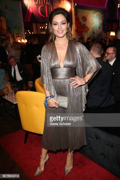 Nazan Eckes during the BUNTE BMW Festival Night 2018 on the occasion of the 68th Berlinale International Film Festival Berlin at Restaurant...