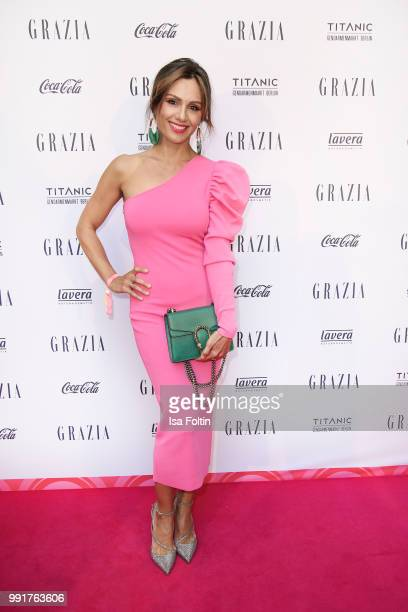 Nazan Eckes during the Grazia Pink Hour at Titanic Hotel on July 4 2018 in Berlin Germany