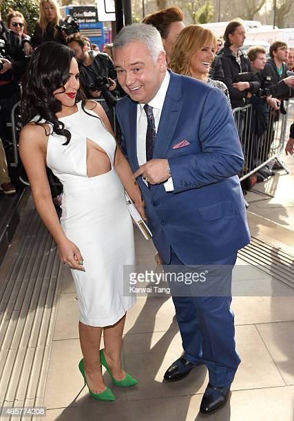Nazaneen Ghaffar and Eamonn Holmes attend the TRIC Awards at Grosvenor House Hotel on March 10 2015 in London England