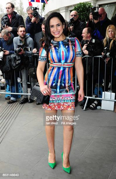 Nazaneen Ghaffar attending the TRIC Awards at the Grosvenor House Hotel in London