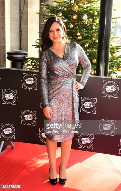 Nazaneen Ghaffar attending the TRIC Christmas Party at Grosvenor House Hotel London