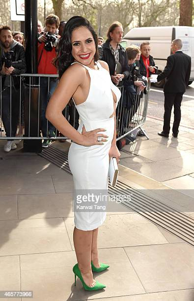Nazaneen Ghaffar attends the TRIC Awards at Grosvenor House Hotel on March 10 2015 in London England