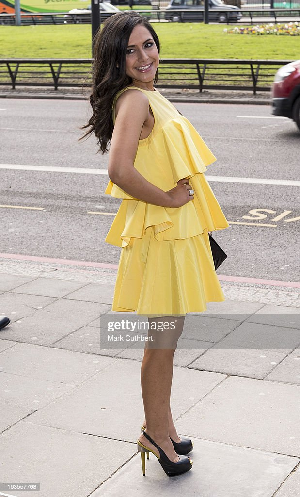 TRIC Awards - Arrivals : News Photo