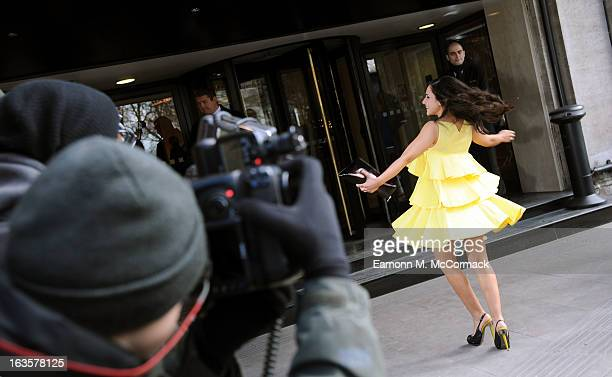 Nazaneen Ghaffar attends the TRIC awards at The Grosvenor House Hotel on March 12 2013 in London England