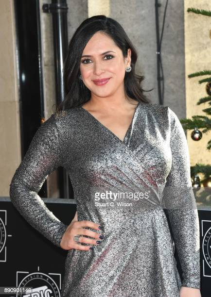 Nazaneen Ghaffar attends the TRIC Awards Christmas lunch at Grosvenor House on December 12 2017 in London England