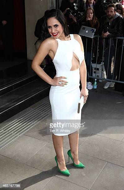 Nazaneen Ghaffar attends the TRIC Awards on March 10 2015 in London England