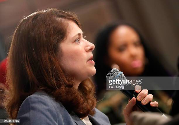 Nazaneen Grant MD Associate Professor of Otolaryngology Head and Neck Surgery MedStar Georgetown University Hospital speaks during a panel discussion...