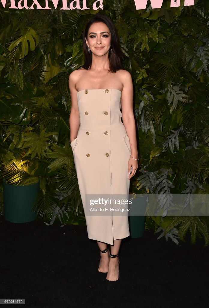 Nazanin Boniadi attends Max Mara Women In Film Face of the Future at Chateau Marmont on June 12, 2018 in Los Angeles, California.