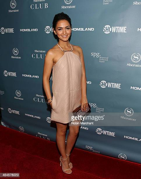 Nazanin Boniadi attends Sheraton Hotel Resorts and SHOWTIME Present Spies Among Us Hosted By HOMELAND's Nazanin Boniadi at Sheraton New York Times...