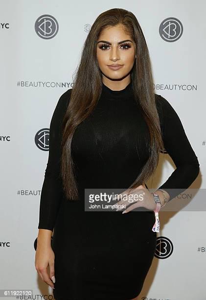 Nazanin Kavari attends 2016 Beautycon Festival NYC at Pier 36 on October 1 2016 in New York City