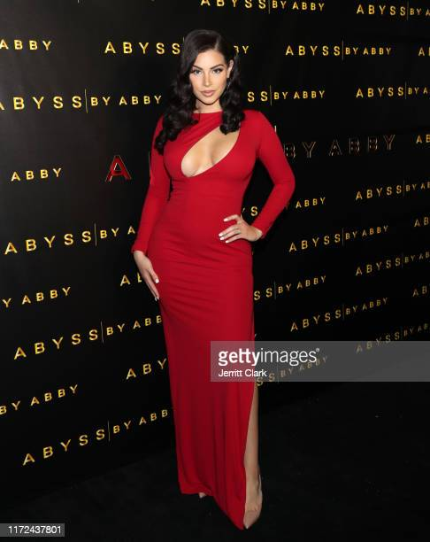 Nazanin Kavari attends Abyss By Abby Launch at Beauty Essex on September 04 2019 in Los Angeles California