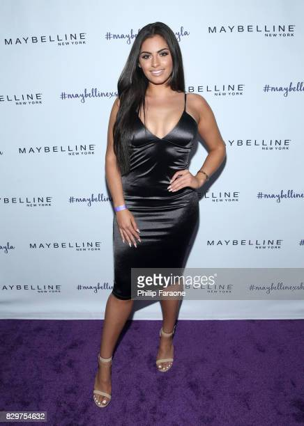 Nazanin Kavari attends Maybelline New York Celebrates First Ever Cobranded Product Collection With Beauty Influencer Shayla Mitchell at 1OAK on...