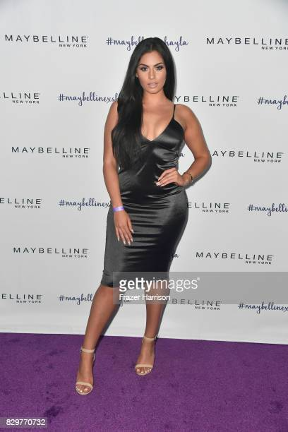 Nazanin Kavari attends Maybelline's Los Angeles Influencer Launch Event at 1OAK on August 10 2017 in West Hollywood California