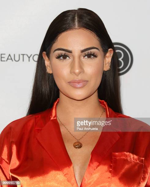 Nazanin Kavari attends the Beautycon Festival LA 2018 at Los Angeles Convention Center on July 15 2018 in Los Angeles California