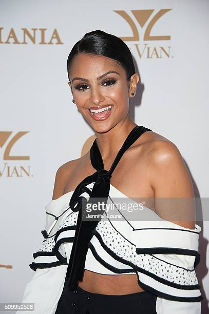 Nazanin Mandi arrives at the OK Magazine's Annual Pre GRAMMY Party at Lure on February 12 2016 in Hollywood California