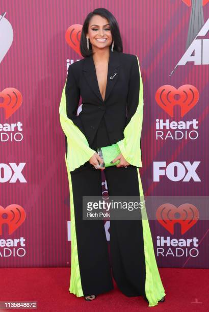 Nazanin Mandi attends the 2019 iHeartRadio Music Awards which broadcasted live on FOX at Microsoft Theater on March 14 2019 in Los Angeles California