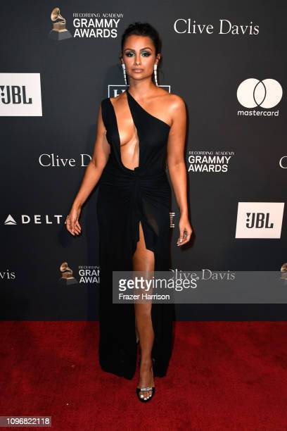Nazanin Mandi attends the PreGRAMMY Gala and GRAMMY Salute to Industry Icons Honoring Clarence Avant at The Beverly Hilton Hotel on February 9 2019...