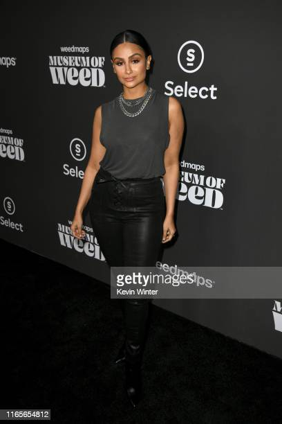 Nazanin Mandi attends Weedmaps Museum Of Weed exclusive preview event on August 01 2019 in Los Angeles California