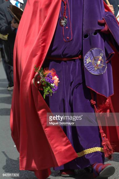 Nazarenes in the Holy Week Parade