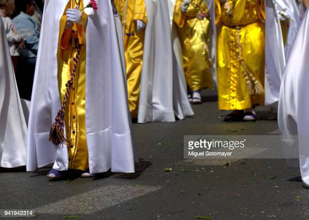 Nazarenes in the Holy Week Procession