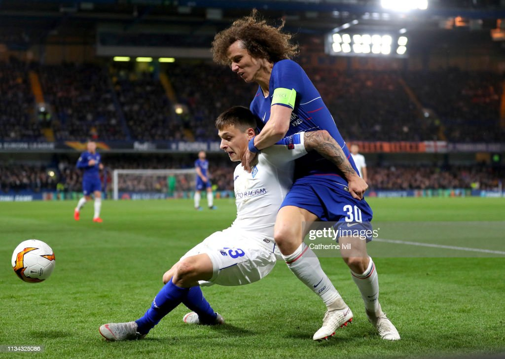 Chelsea v Dynamo Kyiv - UEFA Europa League Round of 16: First Leg : News Photo