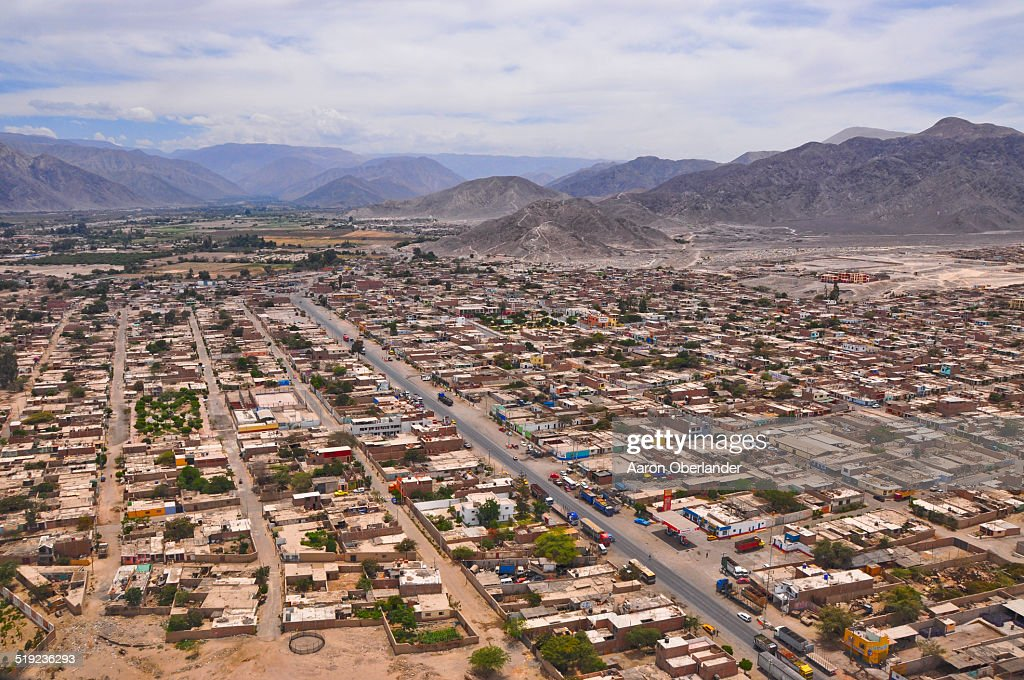 Nazca from the air : Stock Photo