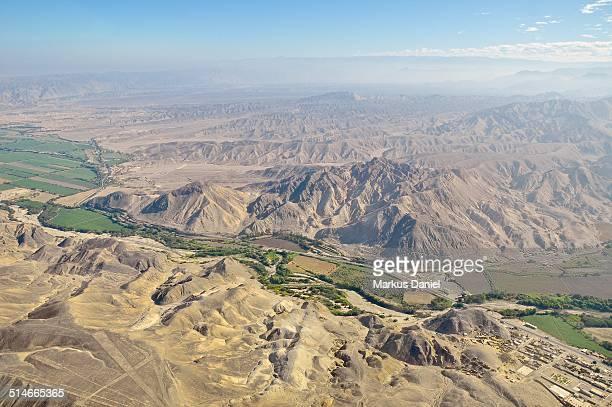 Nazca Lines and Panamericana Sur Higway
