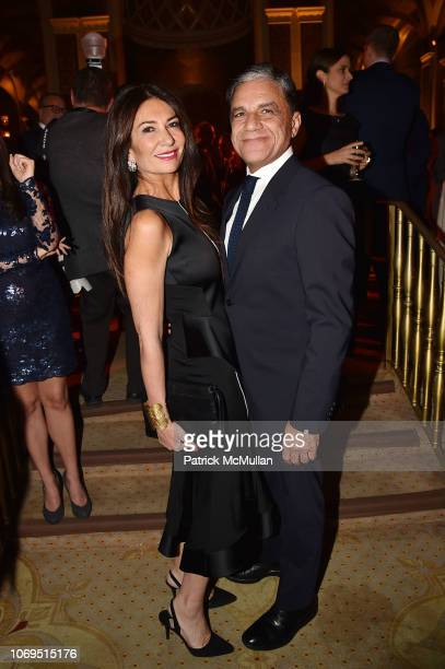 Nazee Moinian and Joseph Moinian attend American Friends Of Rabin Medical Center 2018 Annual NYC Gala at The Plaza on November 19 2018 in New York...