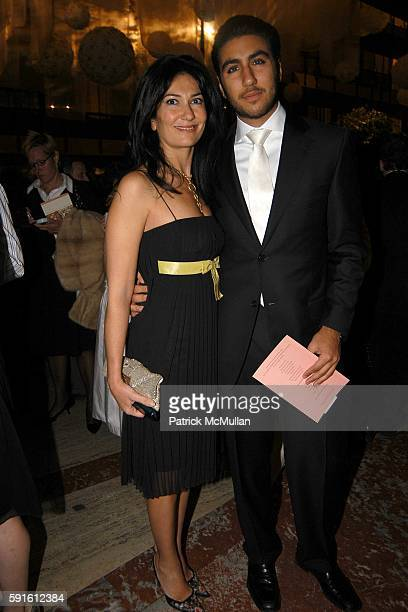 Nazee Moinian and Mathew Moinian attend New York City Ballet Spring Gala at New York State Theater on May 4 2005 in New York City