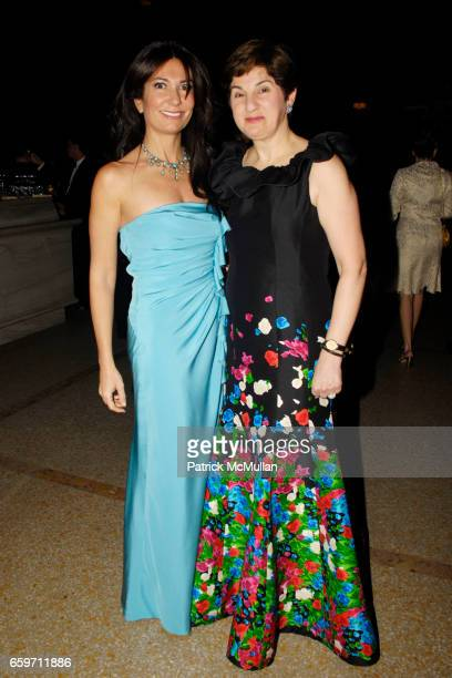 Nazee Moinian and Sharmin MossavarRahmani attend Third Annual NORUZ AT THE MET Gala at Metropolitan Museum of Art on March 12 2009 in New York City