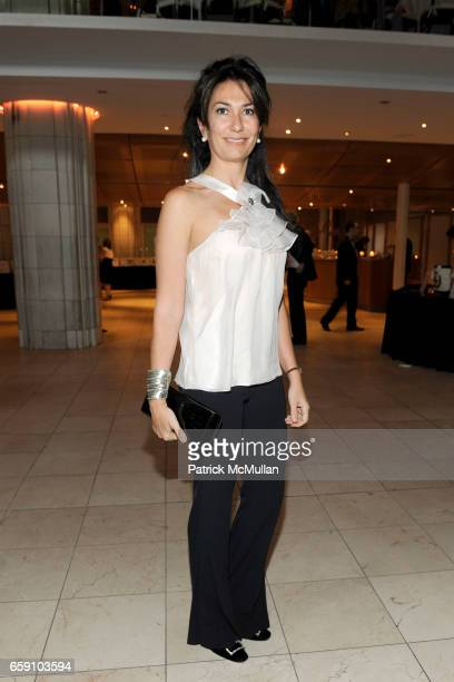 Nazee Moinian attends BARNARD COLLEGE PASS THE TORCH Scholarship Dinner and Auction at 409 E 59th St on April 29 2009 in New York City