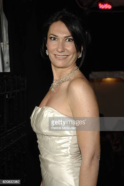 Nazee Moinian attends MUSEUM of the CITY OF NEW YORK Director's Council and DIOR WINTER BALL at Museum of the City of New York on March 12 2008 in...