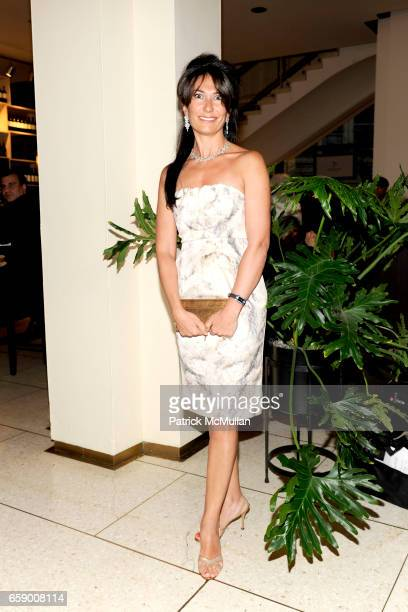 Nazee Moinian attends New York PHILHARMONIC SPRING GALA at Avery Fisher Hall on April 20 2009 in New York City