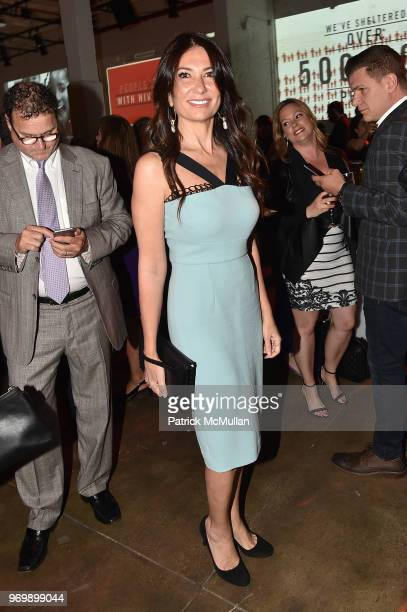 Nazee Moinian attends the HELP USA Heroes Awards Gala at the Garage on June 4 2018 in New York City