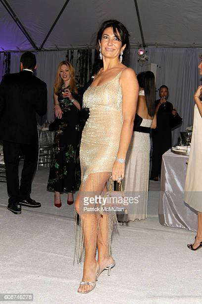Nazee Moinian attends The New York Botanical Garden Winter Wonderland Ball Sponsored by Escada at The NY Botanical Garden on December 7 2007 in New...