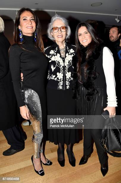 Nazee Moinian Barbara Tober and Jessica Zamir attend Barbara Tober hosts a party for AVEDON Something Personal at Museum of Art and Design on...