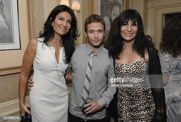 Nazee Moinian Kevin Connolly and Zore Zanz during Dinner Party with Kevin Connolly Hosted by Jason Binn of Gotham Hamptons Magazine at The Friars...