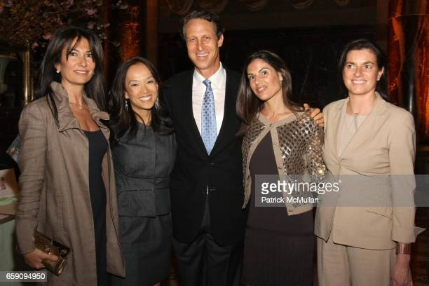 Nazee Moinian Liana Silverstein Backal Dr Mark Hyman Missy Krauss and Mary Kennedy attend The Food Allergy Initiative Spring Luncheon at Cipriani...