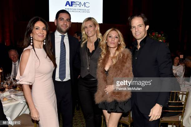 Nazee Moinian Mitchell Moinian Sandi Farkas Seren Shvo and Michael Shvo attend the Best of New York and Israel at AFRMC Gala Honoring Cardinal Dolan...