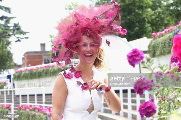 Nazer Bullen attends Day 1 of Royal Ascot 2017 at Ascot Racecourse on June 20 2017 in Ascot England