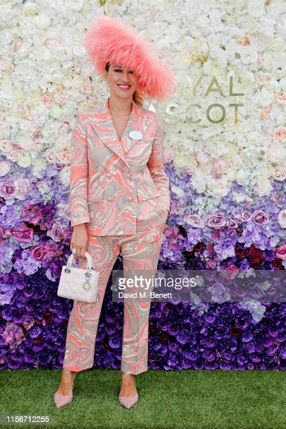 Nazer Bullen attends day 1 of Royal Ascot at Ascot Racecourse on June 18, 2019 in Ascot, England.
