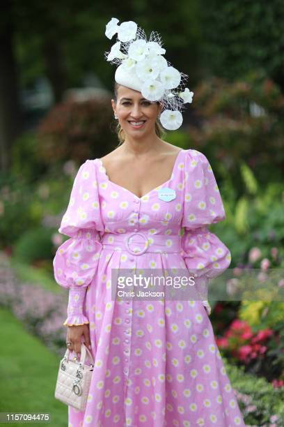 Nazer Bullen of Foodley Bullen PR on day three Ladies Day of Royal Ascot at Ascot Racecourse on June 20 2019 in Ascot England